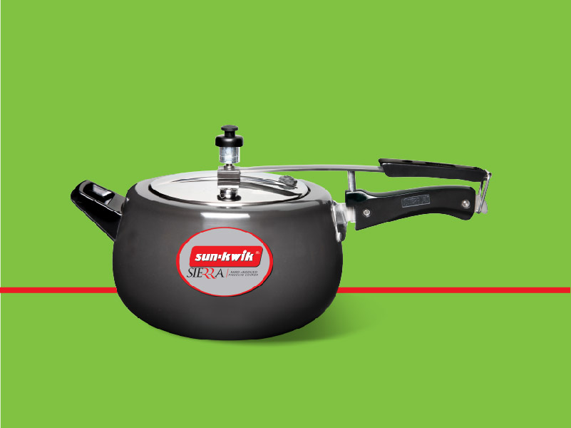 Induction- Base Pressure Cooker